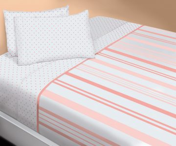 FLANNEL BED SHEET SET
