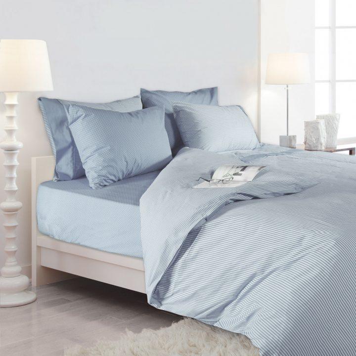 BED SHEEET SET DOTS & STRIPES