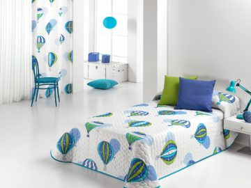 BALLOON QUILTED BEDSPREAD 2P C.03