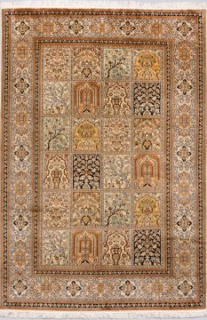 Handmade Royal Taj. Silk 18/18 1.90x1.24=2.36