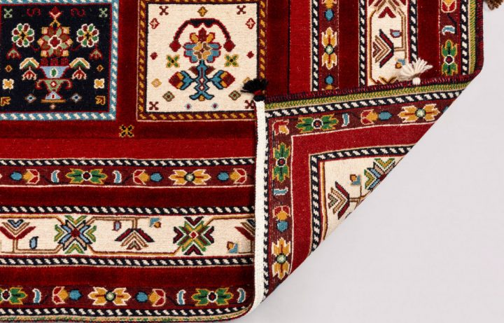 12X60 1025 Red/Ivory