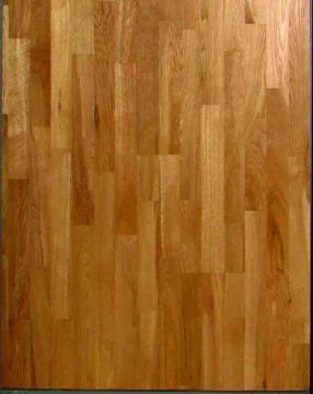 3 STRIP OAK  LAQUERED CD