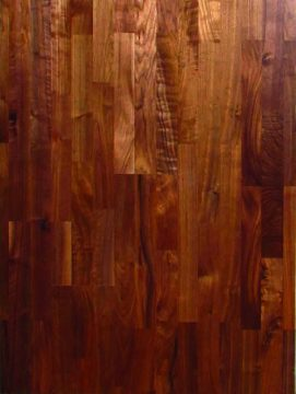 3 STRIP WALNUT ABCD  LAQUERED